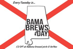 Bama Brews Day Poster